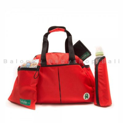 kiwi shoulder bag red