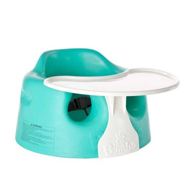 Floor Seat With Suction Cup Toy Safari Aqua