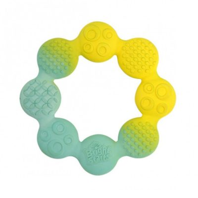 Natural Rubber Ring Teether1