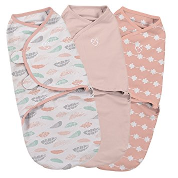 55710 Swaddle Me Coral Days Girl