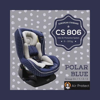 Carseat CS 806 Polar Blue