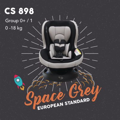 Carseat CS 898 Space Grey