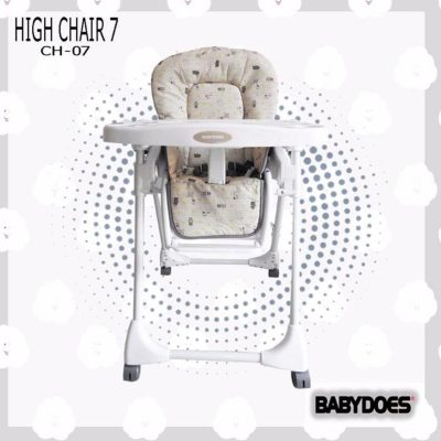 Highchair CH 07 Brown