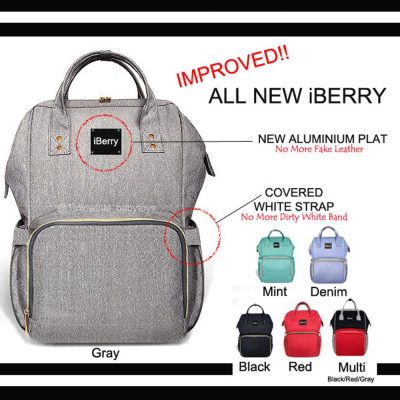 Iberry Diaper Bag All New