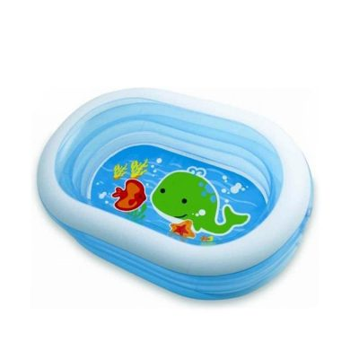 oval Whale Fun Pool