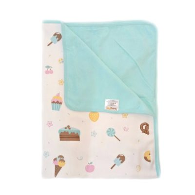 Airy Blanket Candy Aqua