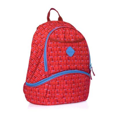 Freckles New Backpack Triangle Dot Red