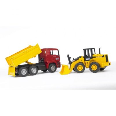 MAN TGA Construction Truck With Articulated (1)