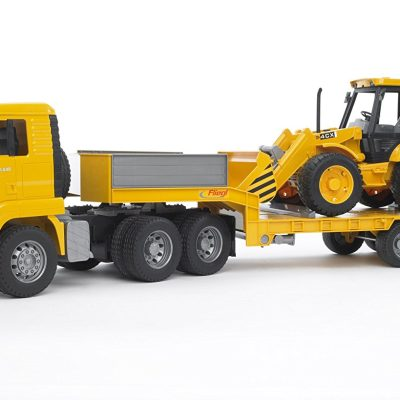 MAN TGA Low Loader With 4cx JCB (1)
