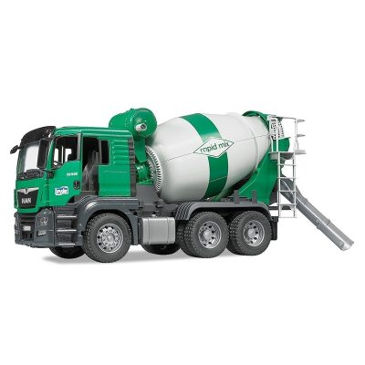 MAN TGS Cement Mixer Truck (1)