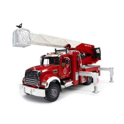 Mack Granite Fire Engine With Ladder&Water Pump (1)
