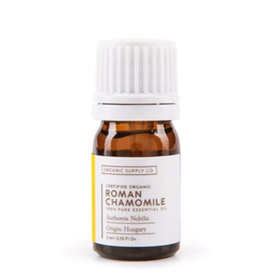 Organic Supply Co Roman Chamomile Essential Oil Roller Ball 10ml